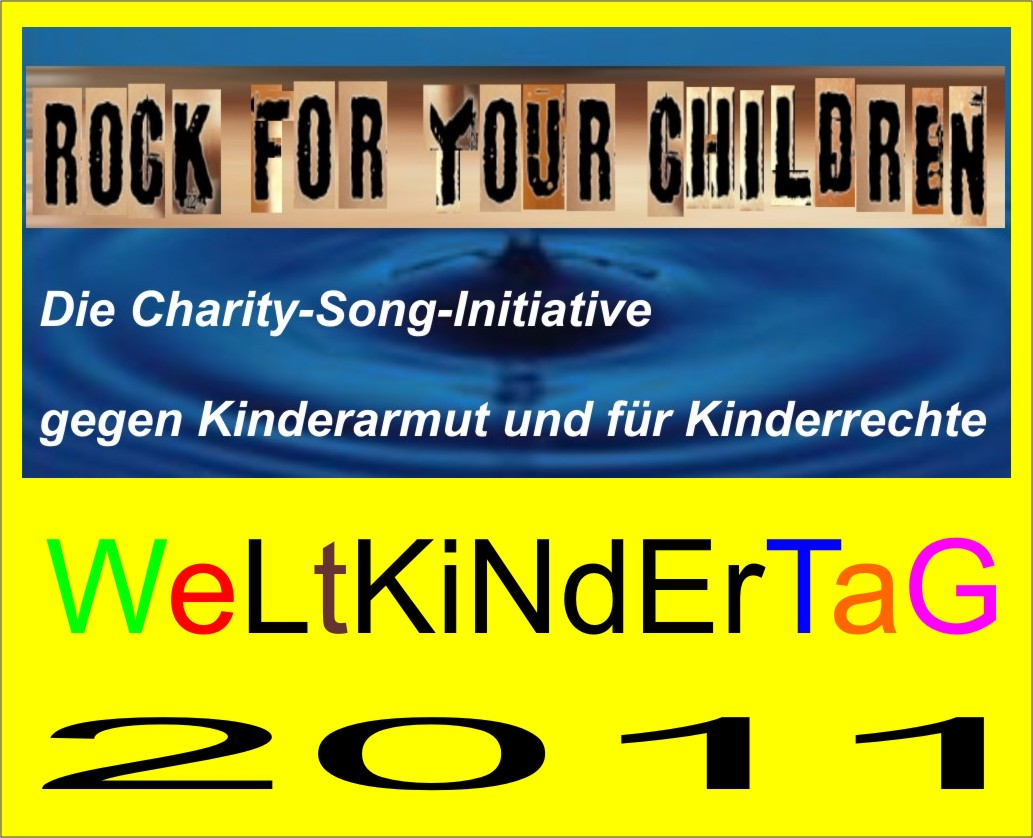 7702c3b5e89 Rock for your children zum WELTKINDERTAG