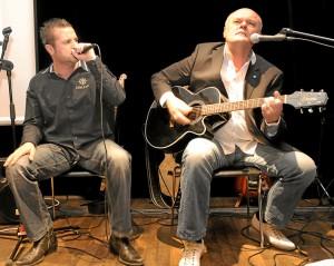 Gerd Kannemann (l), Conny Conrad (r), Foto: Volker Schmid