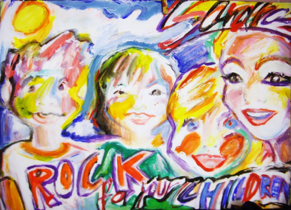 """57a1610a612 Geschafft! Compilation-CD """"ROCK FOR YOUR CHILDREN"""" wird hergestellt ..."""