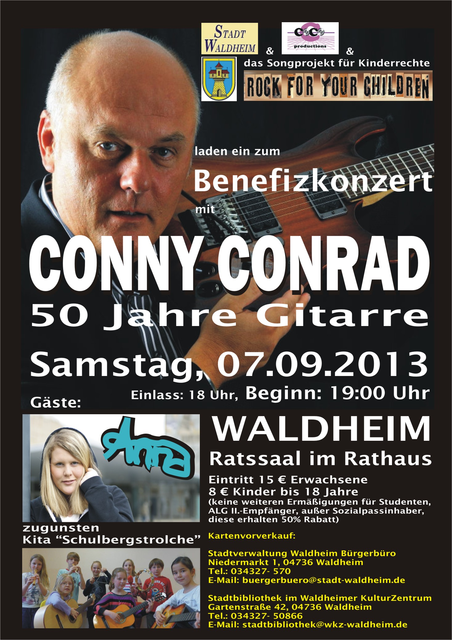 newest ef7d8 61a7d CONNY CONRAD LIVE am 07.09.2013 in WALDHEIM   Rock For Your Children