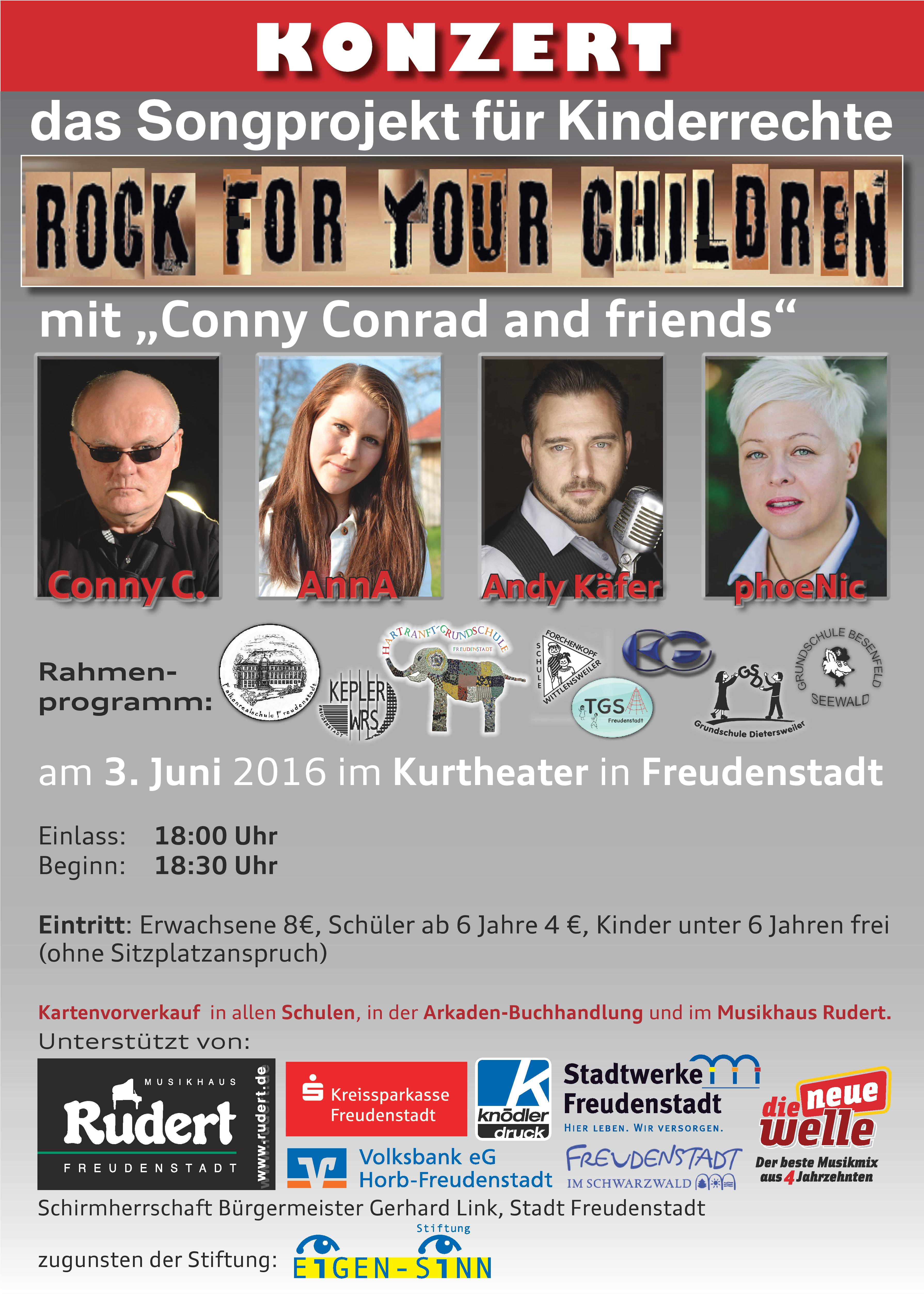 521740a35df ROCK FOR YOUR CHILDREN GEHT INS 7. JAHR MIT SONDERKONZERT IN ...
