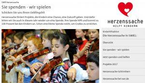 new style 96f11 36a2f Spendenaktion zugunsten SWR- Herzenssache!